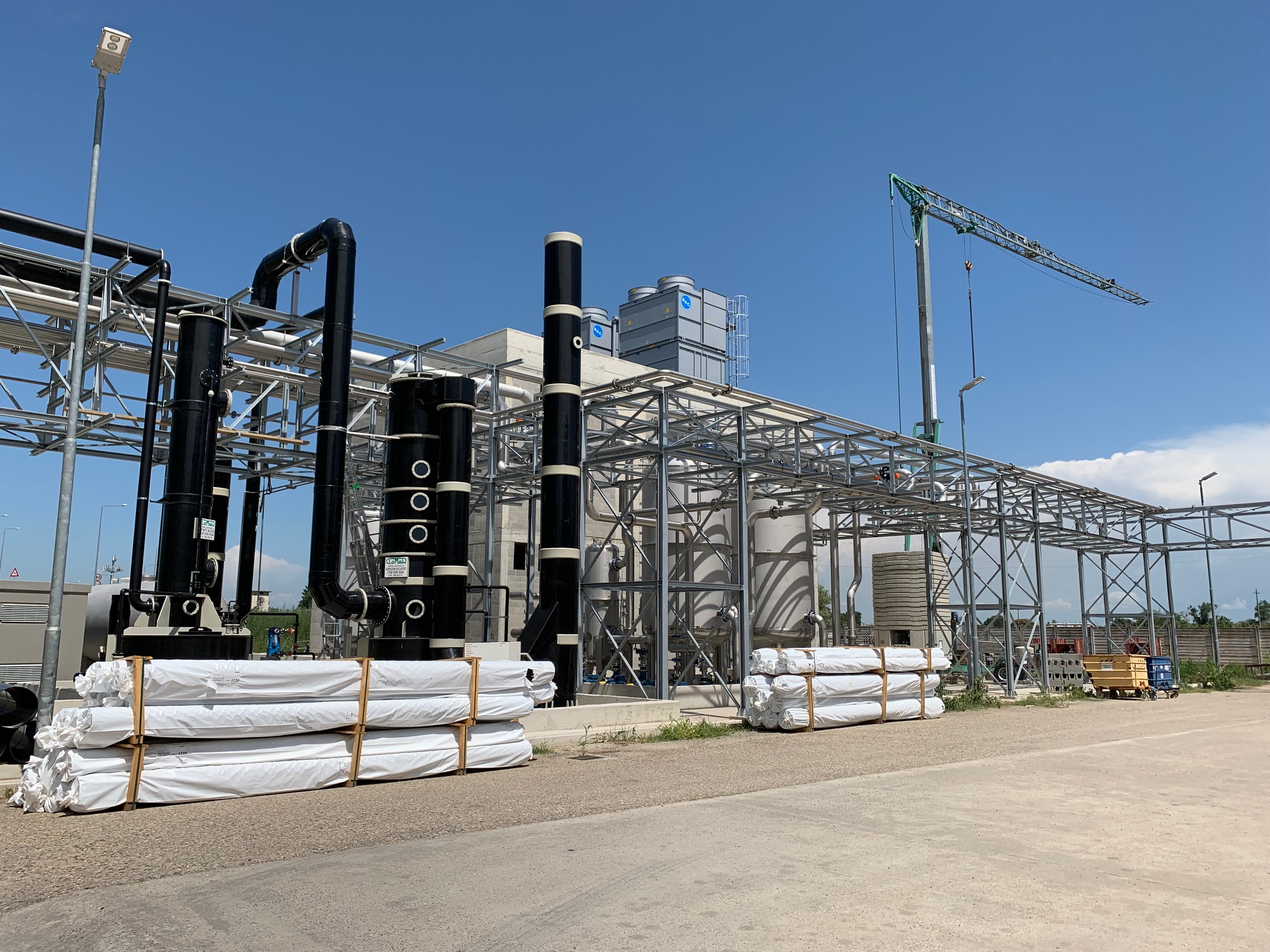 FarmaBios – Update on constructions at Gropello Cairoli (Italy)
